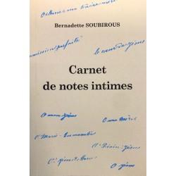 carnet de notes intimes