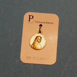 Médaille de Bernadette - Or...