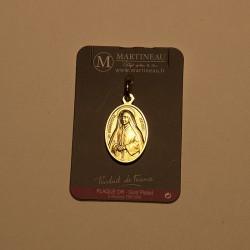 Médaille plaquée or